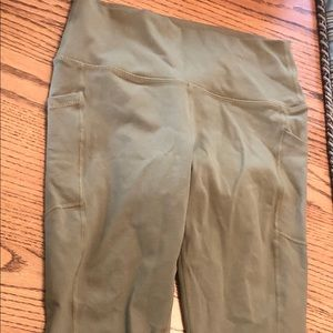 BuffBunny olive green high waisted leggings